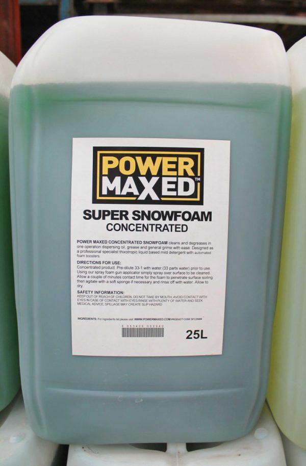 SNOW FOAM WEB